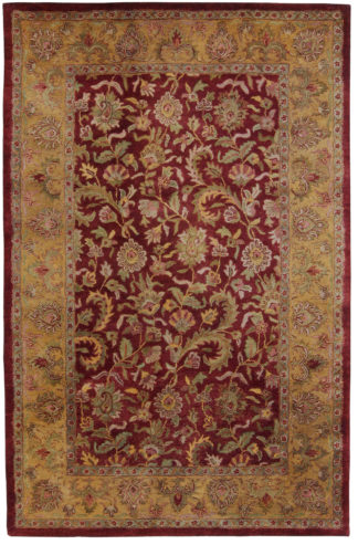 Wool Tufted Jaipur 5' x 8' Area Rug