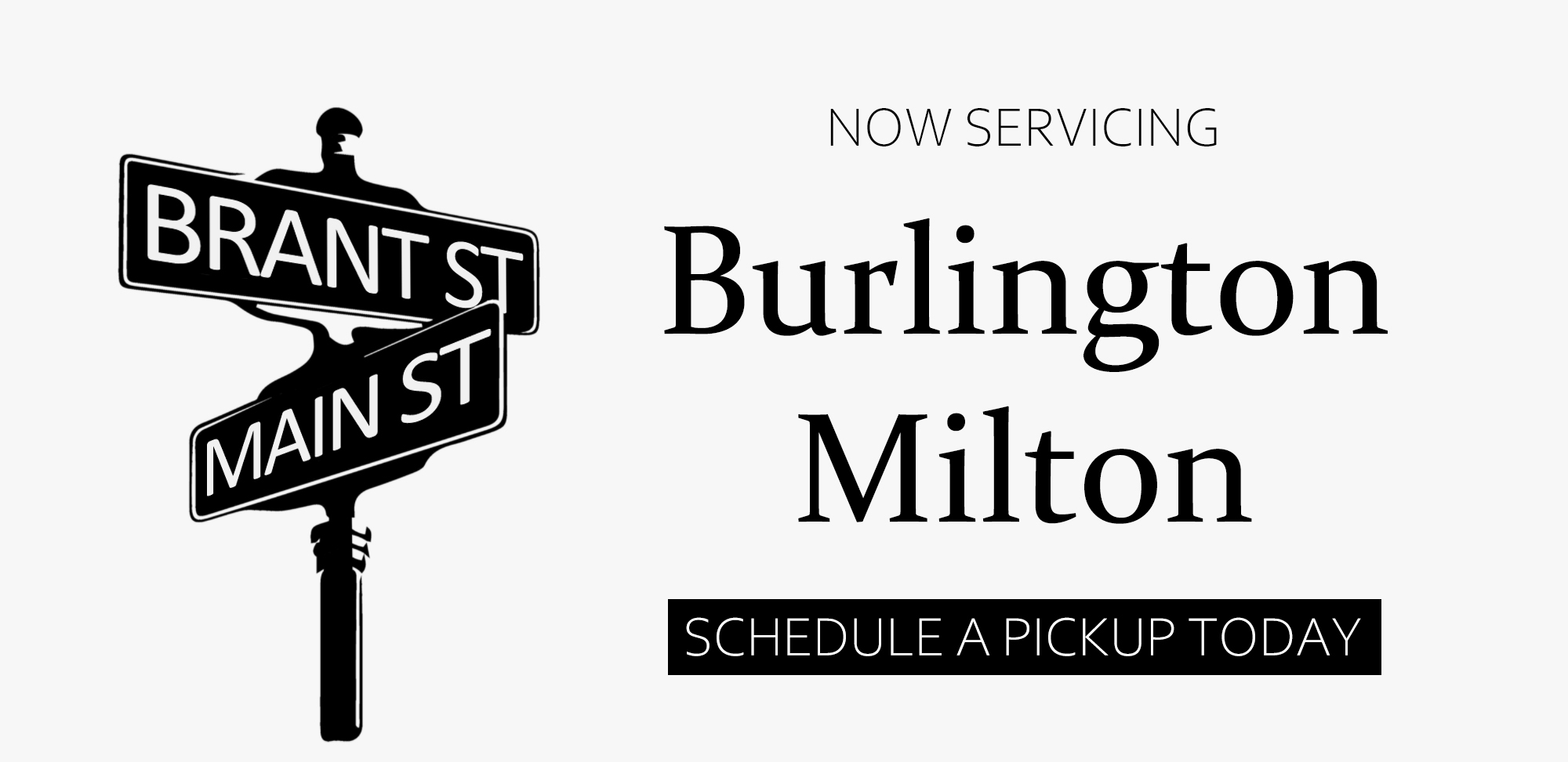 Now Servicing Burlington Milton