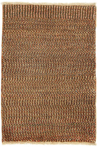 Persian Gabbeh 3x4 Wool Area Rug