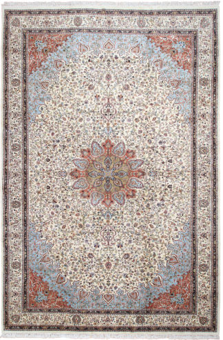 Taba Tabriz Design India 12 x 18 Area Rug