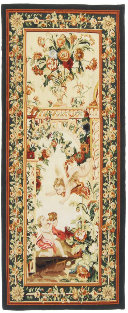 Tapestry Fine 2x6 Green Ivory