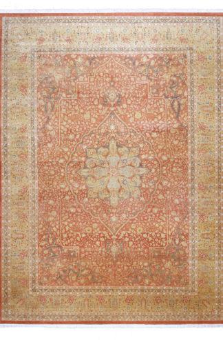 Tabriz Design India 10'x14' Wool Area Rug