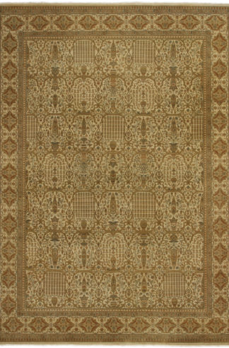 Tabriz Design India 9' x 12' Wool Area Rug