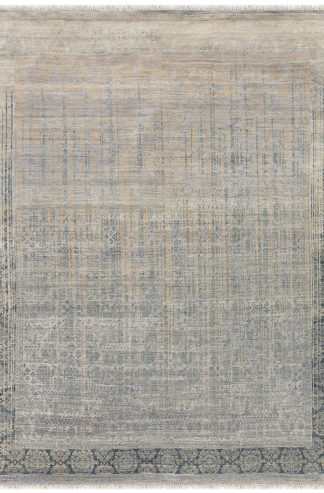 Pearl Transitional 6'x9' Grey Beige Area Rug