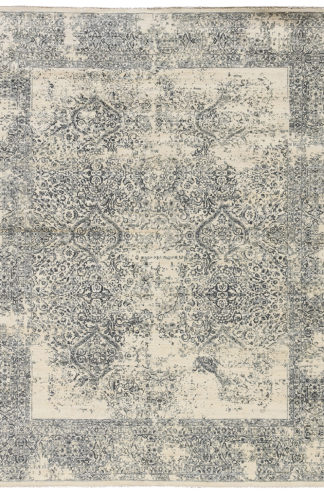 Mulberry Transitional 6'x9' Ivory Grey Area Rug