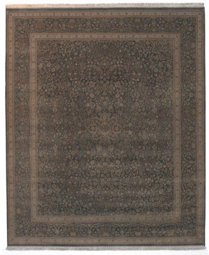 Haji Jalili Tabriz Design 8x10 Fine Wool Area Rug