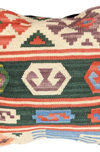 Turkish Kilim Wool Throw Pillow