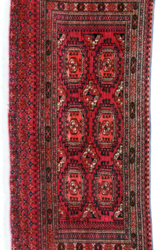 Extra Fine Turkman Salor Chuval 3x5 Red Bag Face