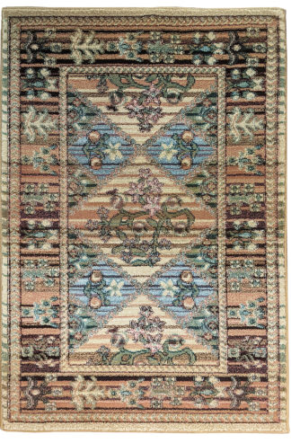 Machine Made Turkish 2x3 Area Rug