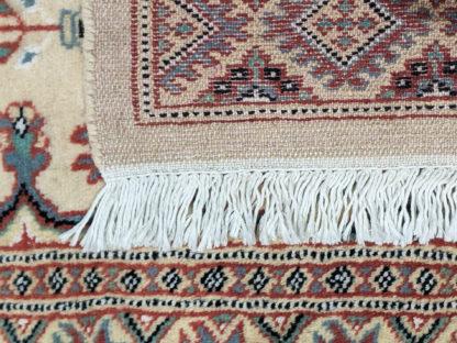 Pakistani Turkmen Design 3x5 Ivory Area Rug