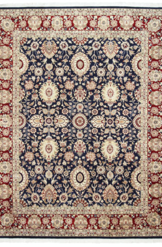 Fine Hand Knotted Tabriz Design 8×10 Wool Area Rug