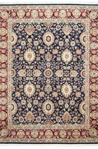 Fine Hand Knotted Tabriz Design 8×10 Wool Area Rug