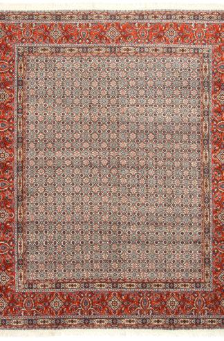 Persian Mood 8x9 Orange Ivory Wool Area Rug