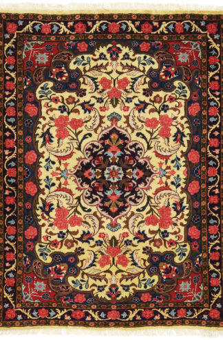 Persian Bakhtiari 3x5 Red Blue Ivory Area Rug