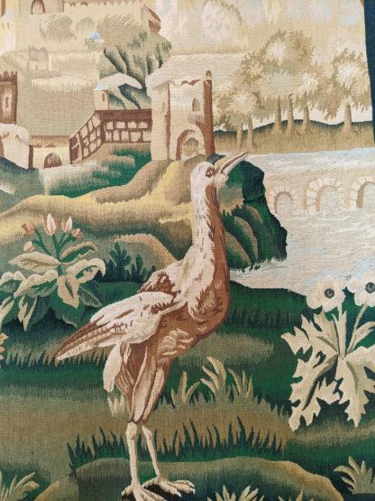 Extra-Fine Verdure Design 4x5 Wool Tapestry