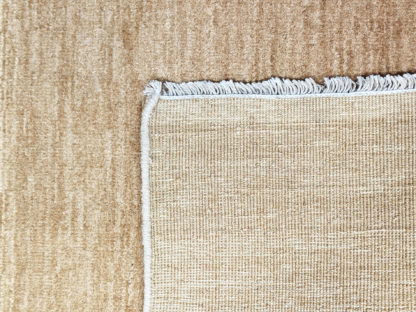 Hand Knotted Chobi 3x3 Beige Wool Area Rug