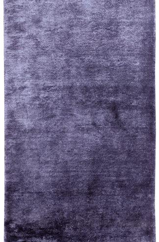 Solid Purple 2x4 Art Silk Area Rug