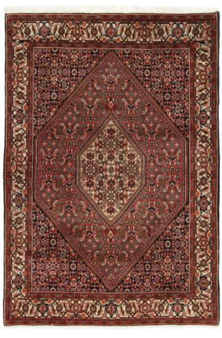Fine Hand Knotted Persian Bidjar 3x5 Wool Area Rug