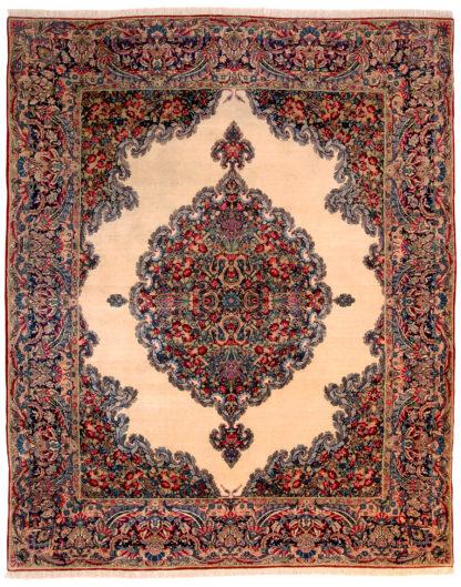 Persian Kerman Semi-Antique 8x10 Wool Area Rug