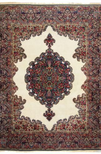 Persian Kerman Semi-Antique 9×12 Wool Area Rug