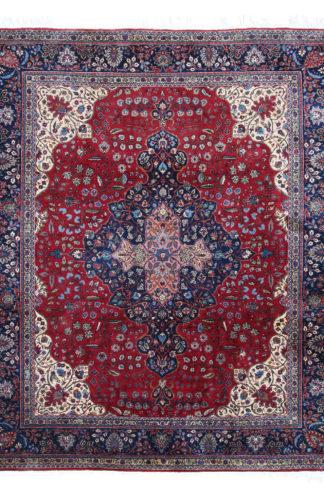 Persian Najafabad 9x11 Red Wool Area Rug