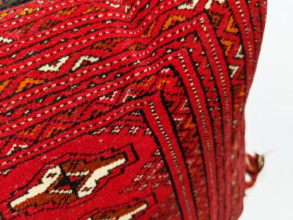 Turkmen Oversize 2x4 Red Rug Pillow
