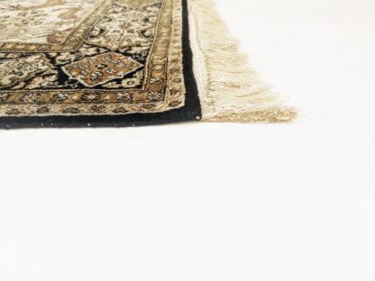 Persian Qum Hunting Scene 3x5 Silk Area Rug