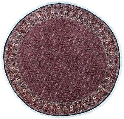 Fine Persian Bidjar 9' Round Wool Area Rug