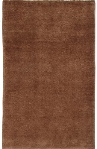 Chobi Gabbeh Design 3x5 Brown Wool Area Rug