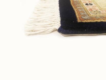 Fine Tabriz Mahi Design 9x12 Blue Beige Area Rug