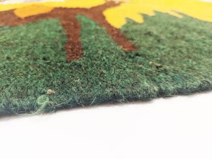 Pictorial Dhurrie 3x5 Wool Area Rug