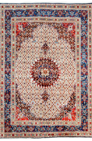 Fine Persian Mood 7x10 Red Blue Area Rug