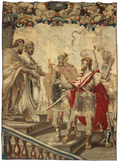 Historical 17th Century Flemish Tapestry