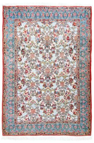Persian Qum 4'x6' Wool Area Rug