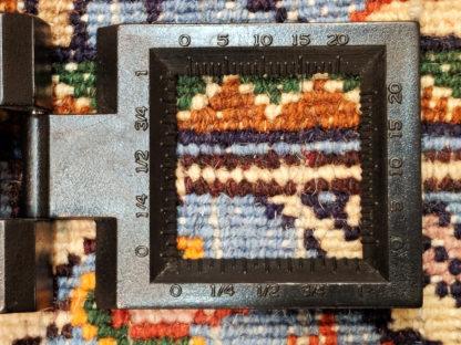 Persian Mood Garden Design 5x6 Wool Area Rug