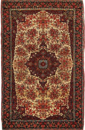 Antique Persian Bidjar 5x7 Wool Area Rug
