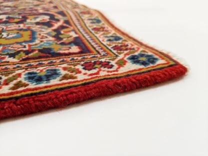 Persian Kashan 5x7 Red Blue Wool Area Rug