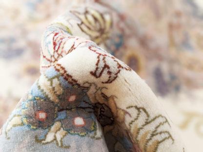 Persian Tabriz Novinfar 5x7 Wool Silk Area Rug