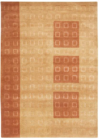 Contemporary Tibetan 6x8 Light Brown Area Rug