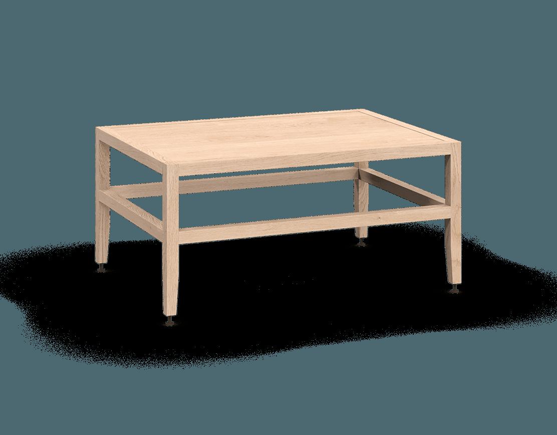 banquette ou table de salon modulaire en bois massif coquo volitare avec chêne blanc 33 pouces C2-B-3324-0001-NA