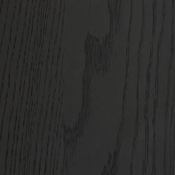 Stained oak midnight black