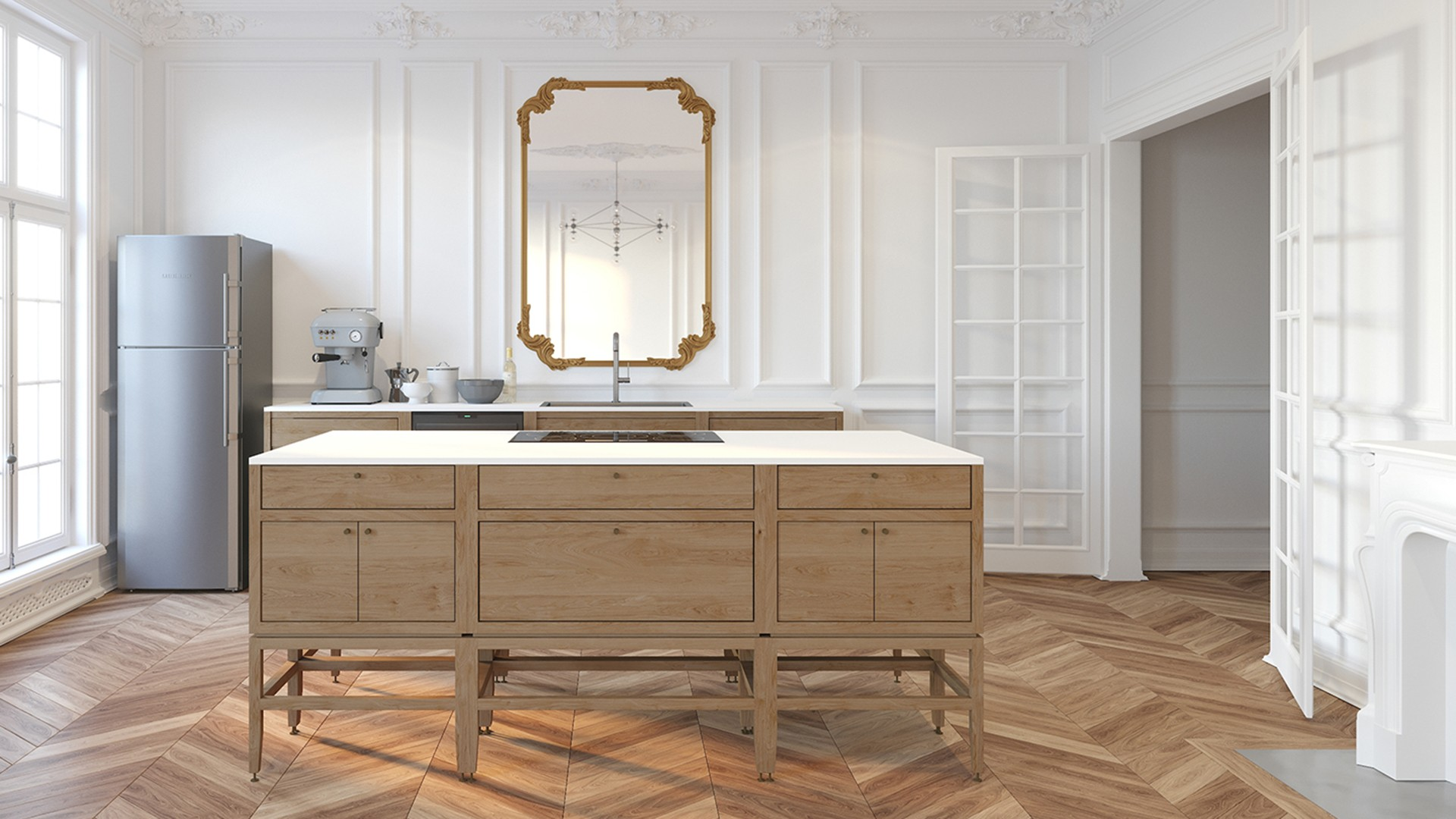 Volitare Collection—Cabinets & Furniture for the Whole House | coquo