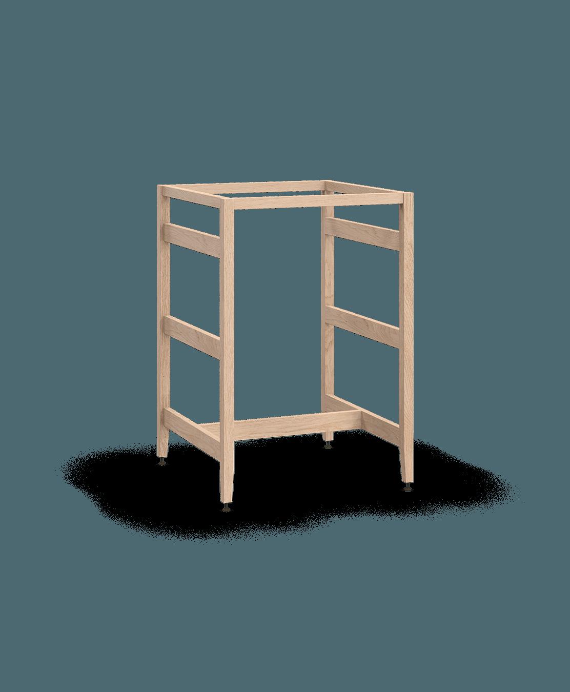 extension pour comptoir lunch de cuisine modulaire en bois massif coquo radix avec chêne blanc 24 pouces C1-CX-2424-0001-NA