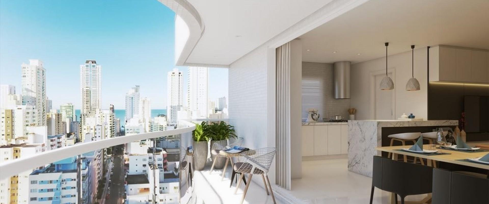 Golden Bay Apartamento no Edifício Golden Bay em Balneário Camboriú