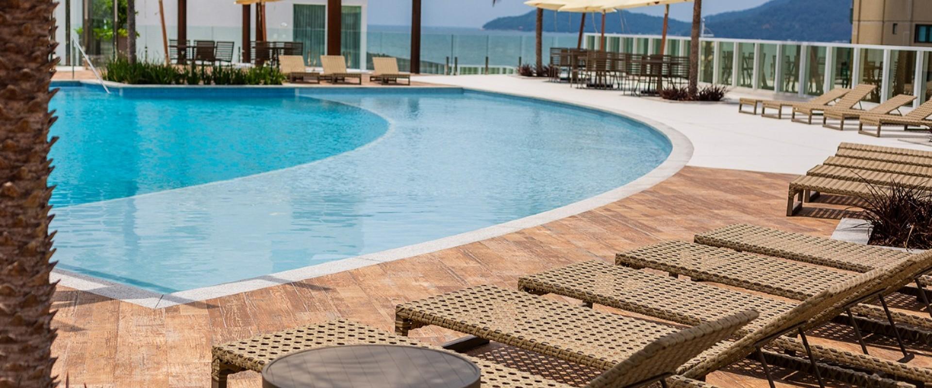 Infinity Coast Apartamento vista mar no Infinity Coast em Balneário Camboriú