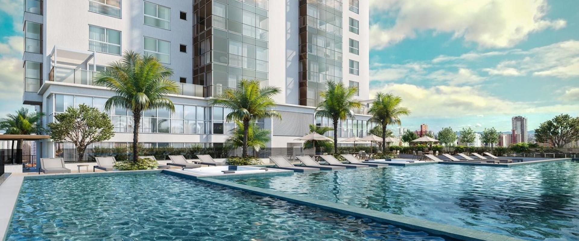 Grand Place Apartamento em lançamento da FG, Grand Place em Balneário Camboriú.