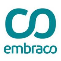 Logo Embraco - DDN Gestão de resíduos - Reciclagem de Lâmpadas Fluorescentes e LED em Balneário Camboriú, Camboriú, Itajaí, Itapema e região.