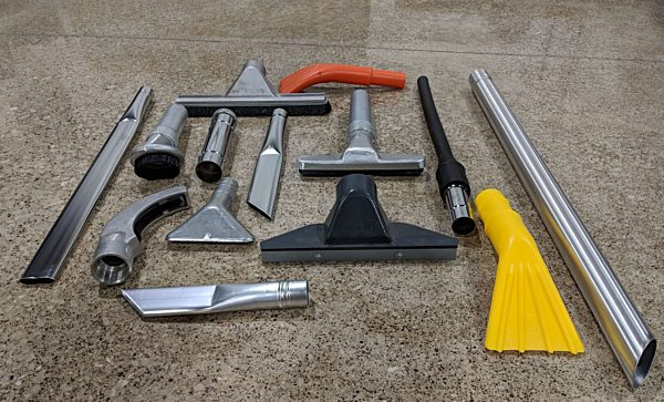 Small Industrial Vacuum Hand Tools by DuroVac
