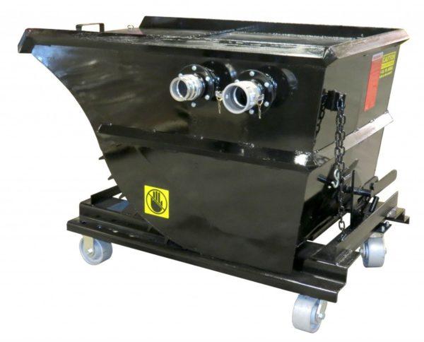 Hoppers & Pre-separators by DuroVac Industrial Vacuums