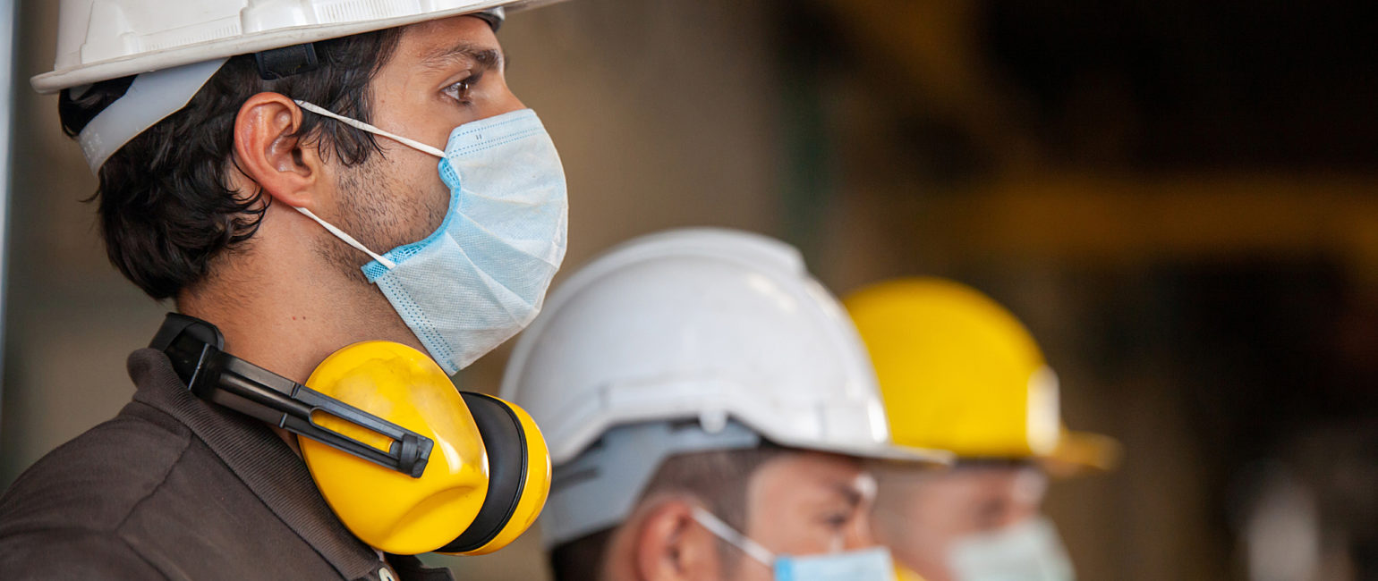 Men with Safety Equipment